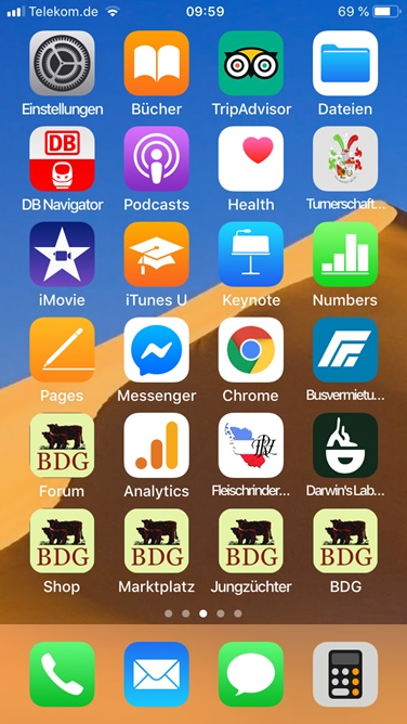 Beispiel BDG Touch Icons